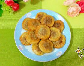 芝麻肉松酥饼(电饼铛版)
