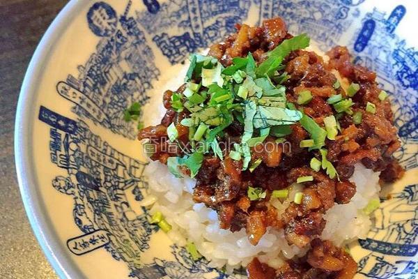 台湾肉燥饭