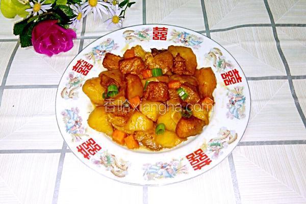 土豆烧猪肉
