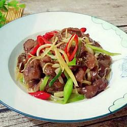 姜丝炒牛肉