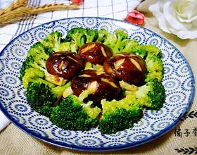 香菇炒西兰花[图]