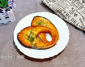 香煎三文魚扒[圖]