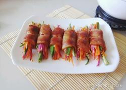 培根蔬菜肉卷