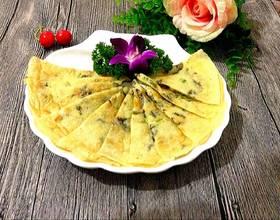香煎紫菜饼