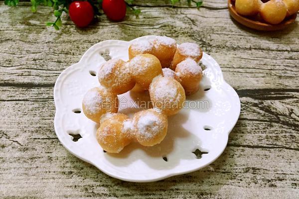 油炸甜甜圈的做法