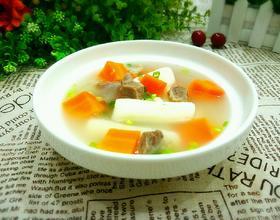 山药胡萝卜牛肉汤[图]