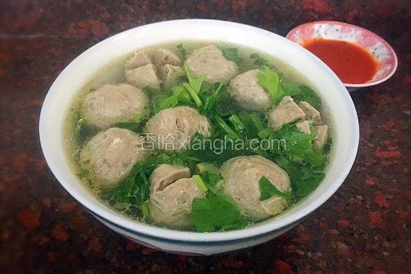 正宗潮汕牛肉丸汤