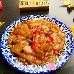 家常炒魔芋豆腐