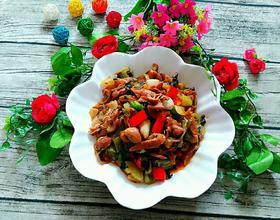 酸菜猪大肠
