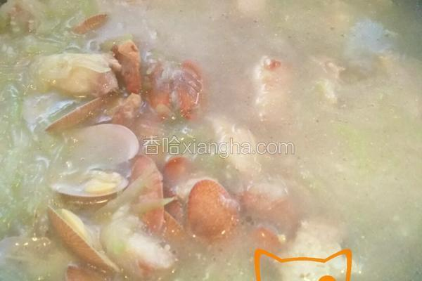 蒲瓜花蛤汤