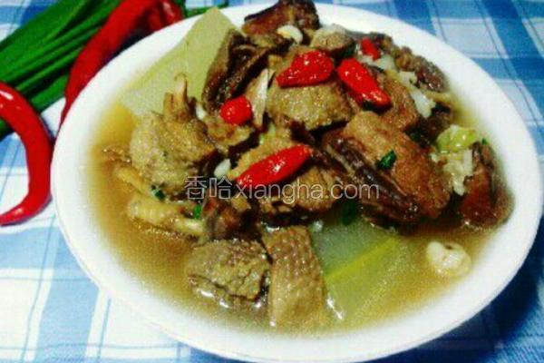 冬瓜老鸭薏米汤
