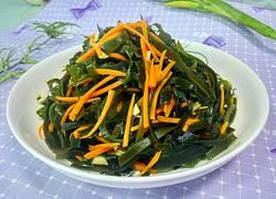 胡萝卜炒海带丝