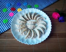 香菇肉馅饺子