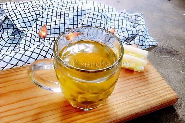 西瓜皮荷叶茶