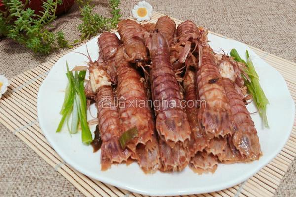 酱炒虾爬子