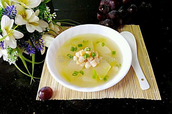 冬瓜瑶柱汤的做法