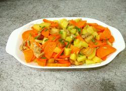 胡萝卜土豆烧肉