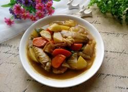 咖喱鸡翅土豆