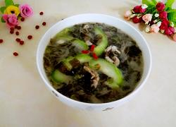 紫菜丝瓜汤
