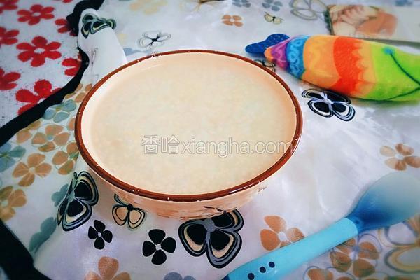 二米麦仁粥(BB煲)