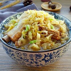 排骨烩酸菜