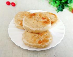 电饼铛豆沙酥饼