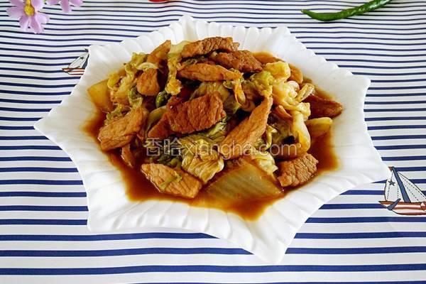 大白菜烧肉