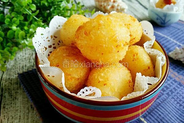 土豆芝士球
