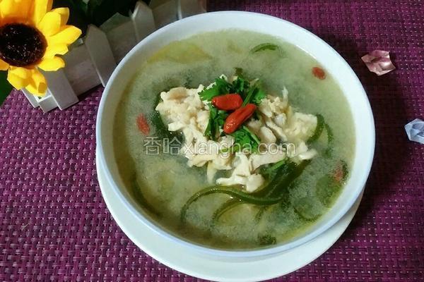 鸡肉海带汤