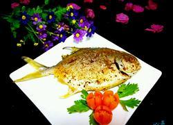 干煎椒盐鲳鱼