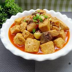 豆腐烧鲢鱼