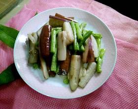 干锅茄子豆角