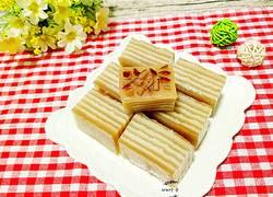红糖椰汁千层马蹄糕