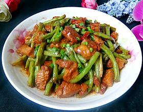 豇豆红烧肉