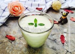 酸奶苹果汁