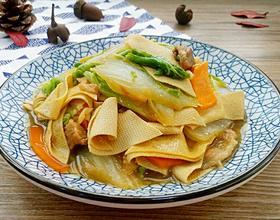 大白菜炖干豆腐[图]