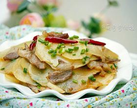 土豆炒肉片[图]