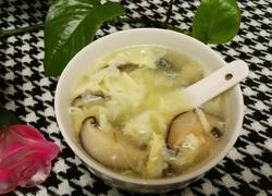 鸡蛋香菇汤