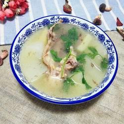 鸭架冬瓜汤