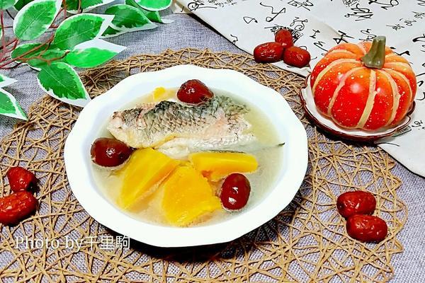 黑鱼红枣南瓜汤