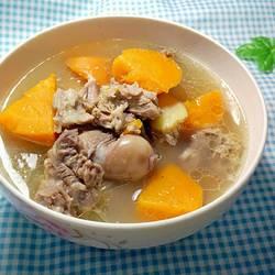 胡萝卜羊肉汤的做法[图]