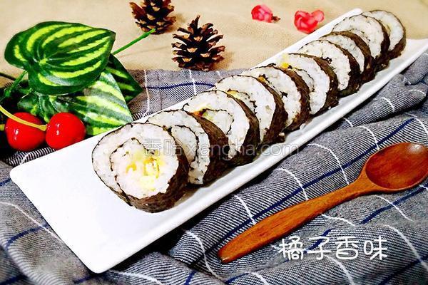 蛋黄寿司的做法
