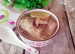 双菇滚鸭汤