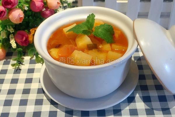 韩国土豆汤的做法