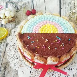 彩虹慕斯蛋糕的做法[图]