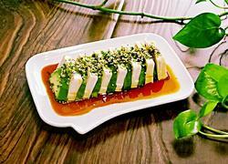 日式牛油果拌豆腐