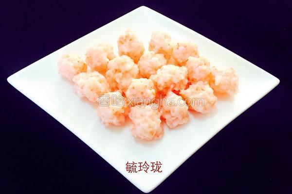 食疗养生_虾丸子的做法_菜谱_香哈网