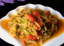 西红柿炒大头菜