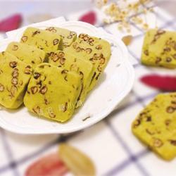 抹茶蜜豆饼干的做法[图]