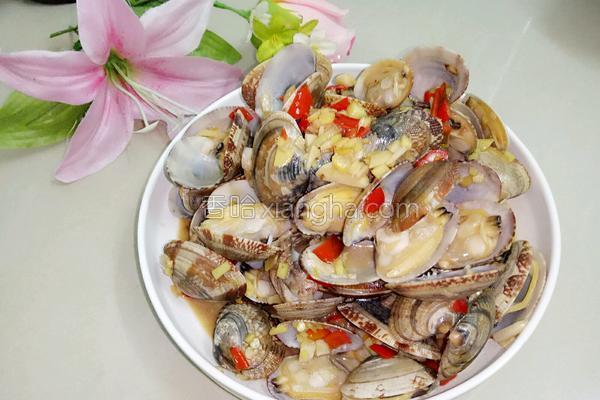 香辣蛤蜊的做法